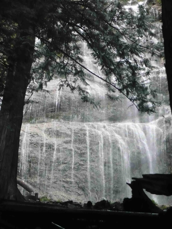 photograph waterfall