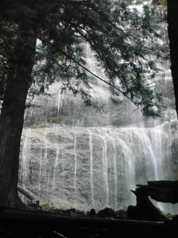 photograph waterfall