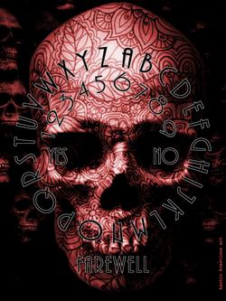 skull circle