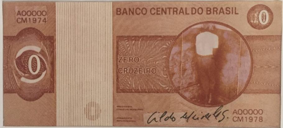 ZERO CRUZEIRO - Verso