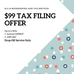 Two Tax Prep Offers for 2020