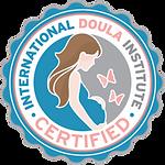 International Doula Institute Certified logo