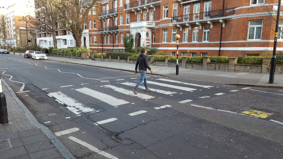 Abbey Road Studios Filming