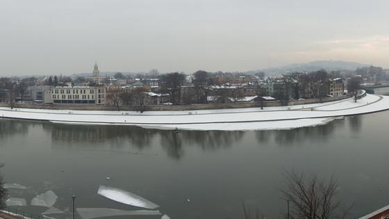 Filming in Krakow