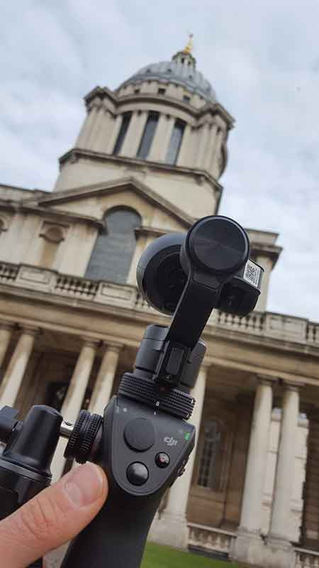 DJI osmo freelance filmmaker london
