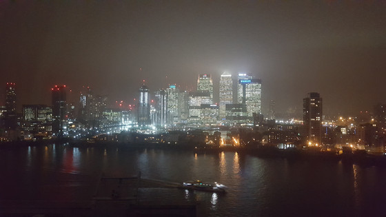 Canary Wharf - filming