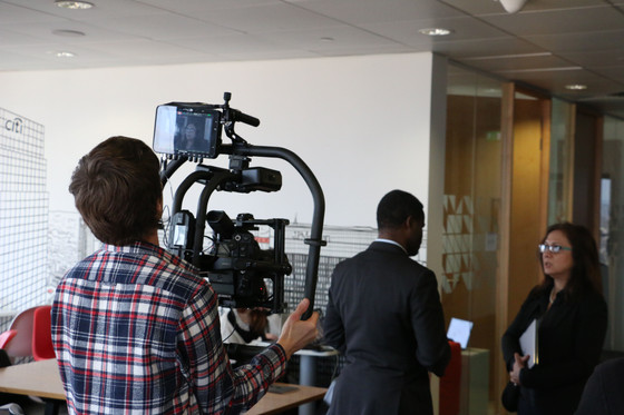 Working as DoP with a Movi Pro Gimbal