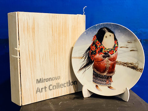 Тарілка з зображенням Роботи Вікторії Проців
