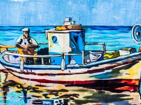 Two Fat Men in a Boat