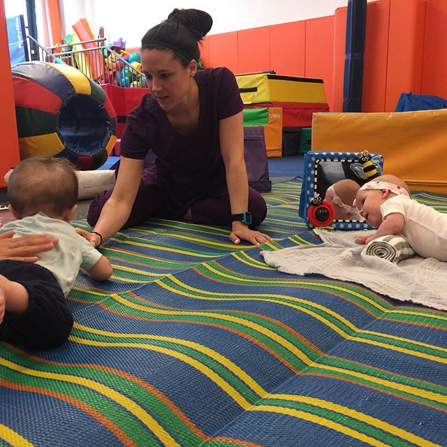 Our Tummy Time champions🌟🌟💝 _kidville