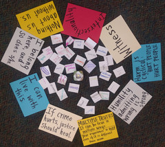 Key Principles Guiding Restorative Justice Circle for Personal and Social Transformation and Healing