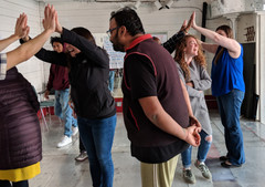 """Theatre of the Oppressed """"Joker"""" Training at the Omni Commons"""