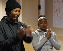 Youth Leadership in Action: Trainees in T.O. guiding dynamic interactive session with their peers