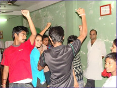 Spontaneous Celebrations: Breath, Being, Body and Mind (collaboration between Arshinagar Project and Rajabazar Education and Awareness Development Society/READS in Kolkata, 2011): A Workshop in Dramatic Play and Embodied Encounter Toward Self-Awareness