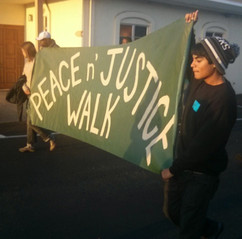 North Oakland Restorative Justice Council youth-led public intervention
