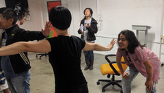 POC Playshop in Theatre of the Oppressed: Colombian Hypnosis