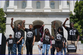 Youth Poetry at Survivors Speak (Californians for Safety and Justice)