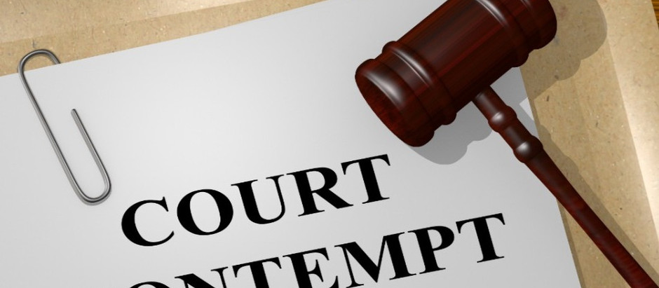 Contempt of Court: Is it time to get rid of the Law?