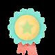 Badge étoile