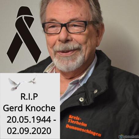 Zum Gedenken an Gerd Knoche
