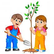 zwei-kinder-die-einen-baum-pflanzen_3307
