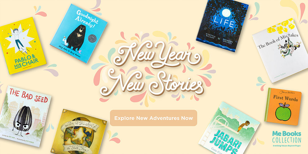 Me Books Collection - new year new stories, new adventures