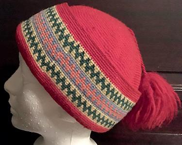 """""""nasaq"""" knit hat"""
