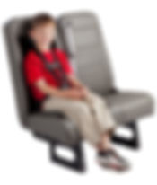 HSM TranCommercial Bus/Van - Integrated Child Seat C.E. White