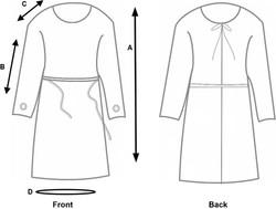 Gown Measurements