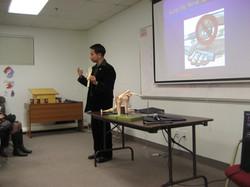 Health Seminar to Church Fellowship 2010
