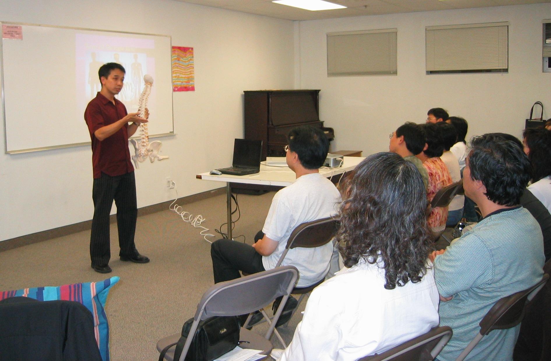 Health Seminar for Church 2006