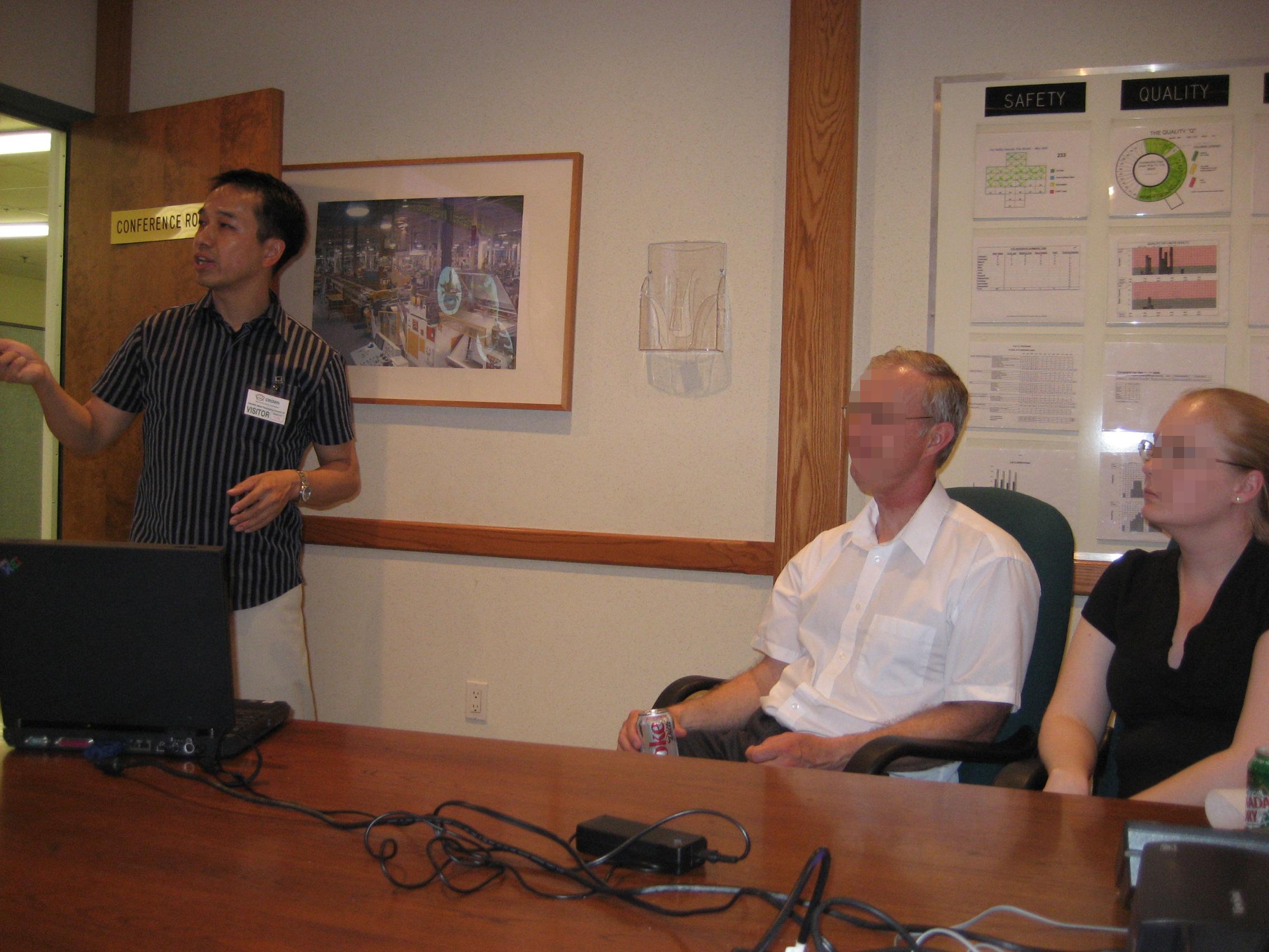 Health Talk to Company 2009