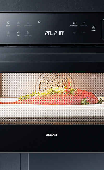 ROBAM CQ762S 30 13 Cooking Functions W//Steam Electric LED Digital Display Touch Control Built-in Single Wall Oven