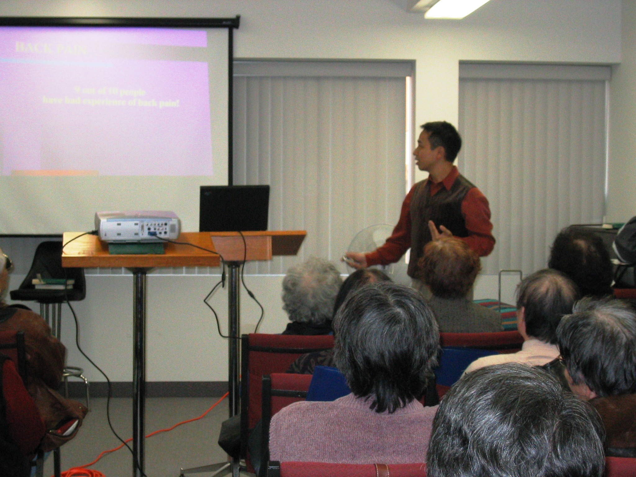 Health Seminar for Church 2005