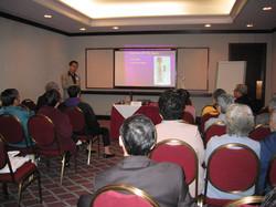 Speaker of Health Seminar 2002