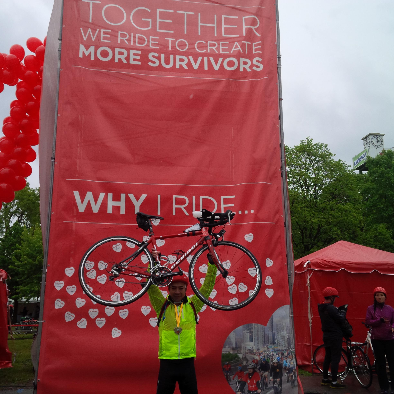 Ride for Heart 騎單車籌款