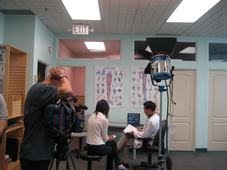 Fairchild電視台專訪