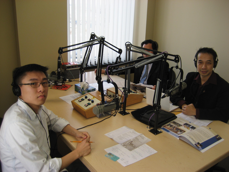 CHIN電台採訪