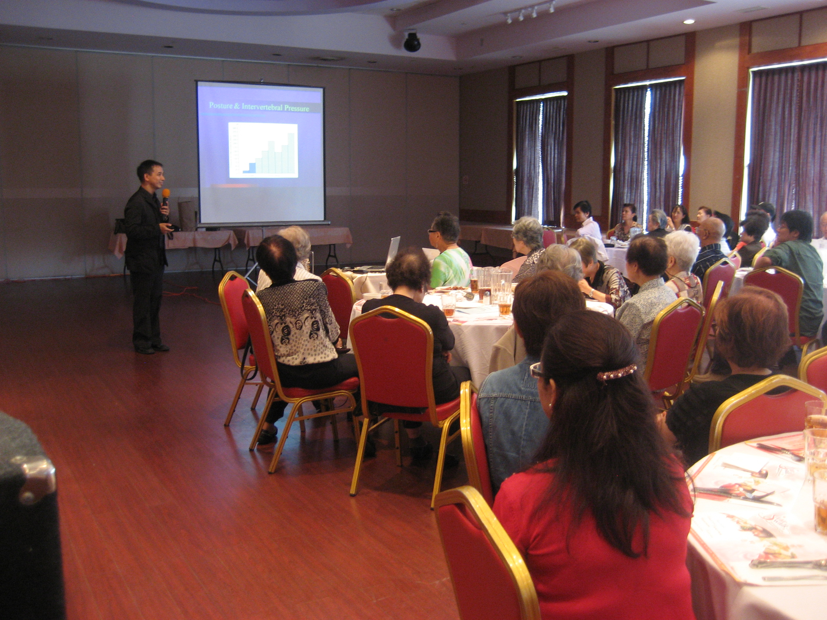 Speaker of Health Seminar 2009