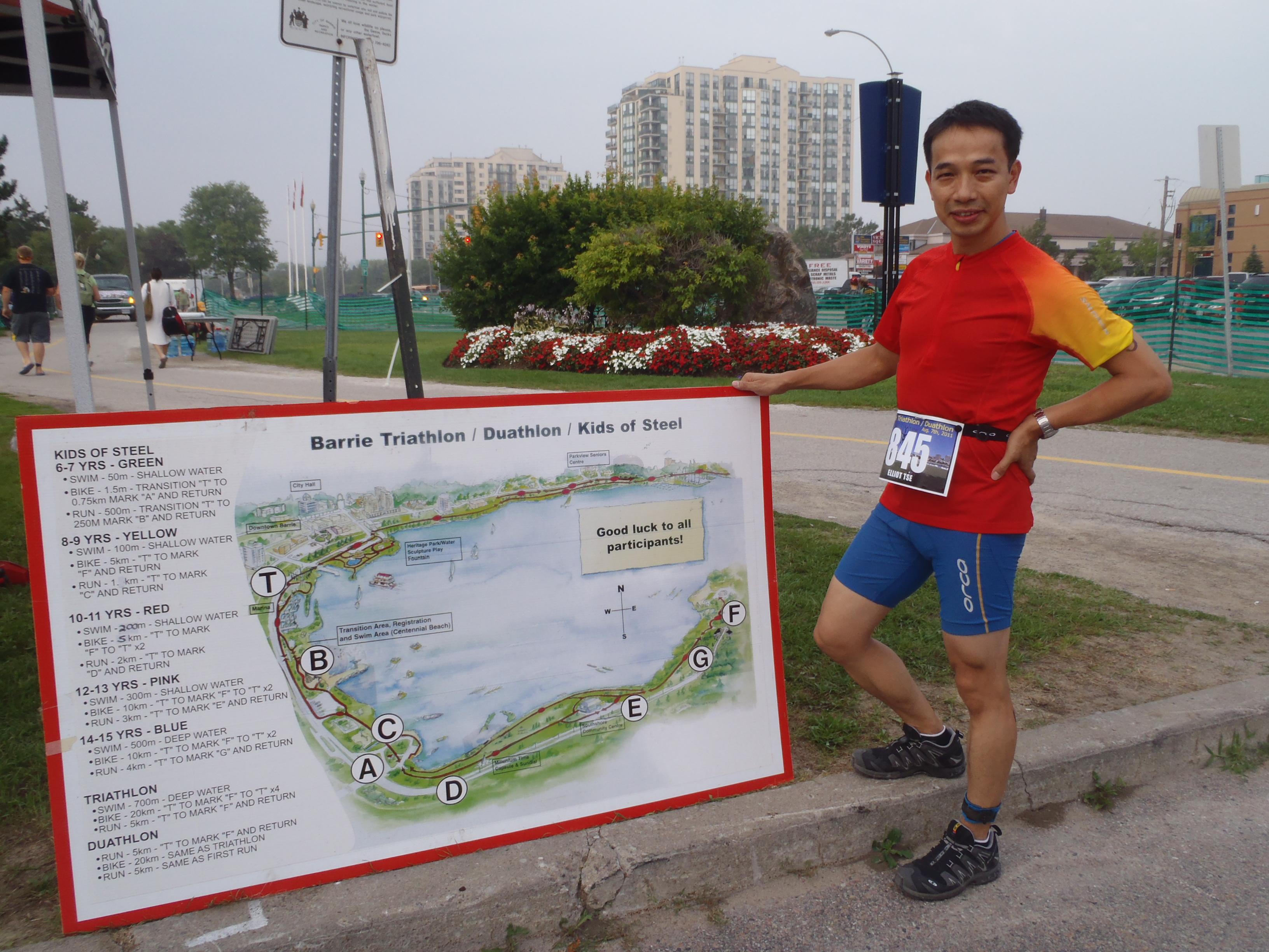 Barrie Triathlon 2011