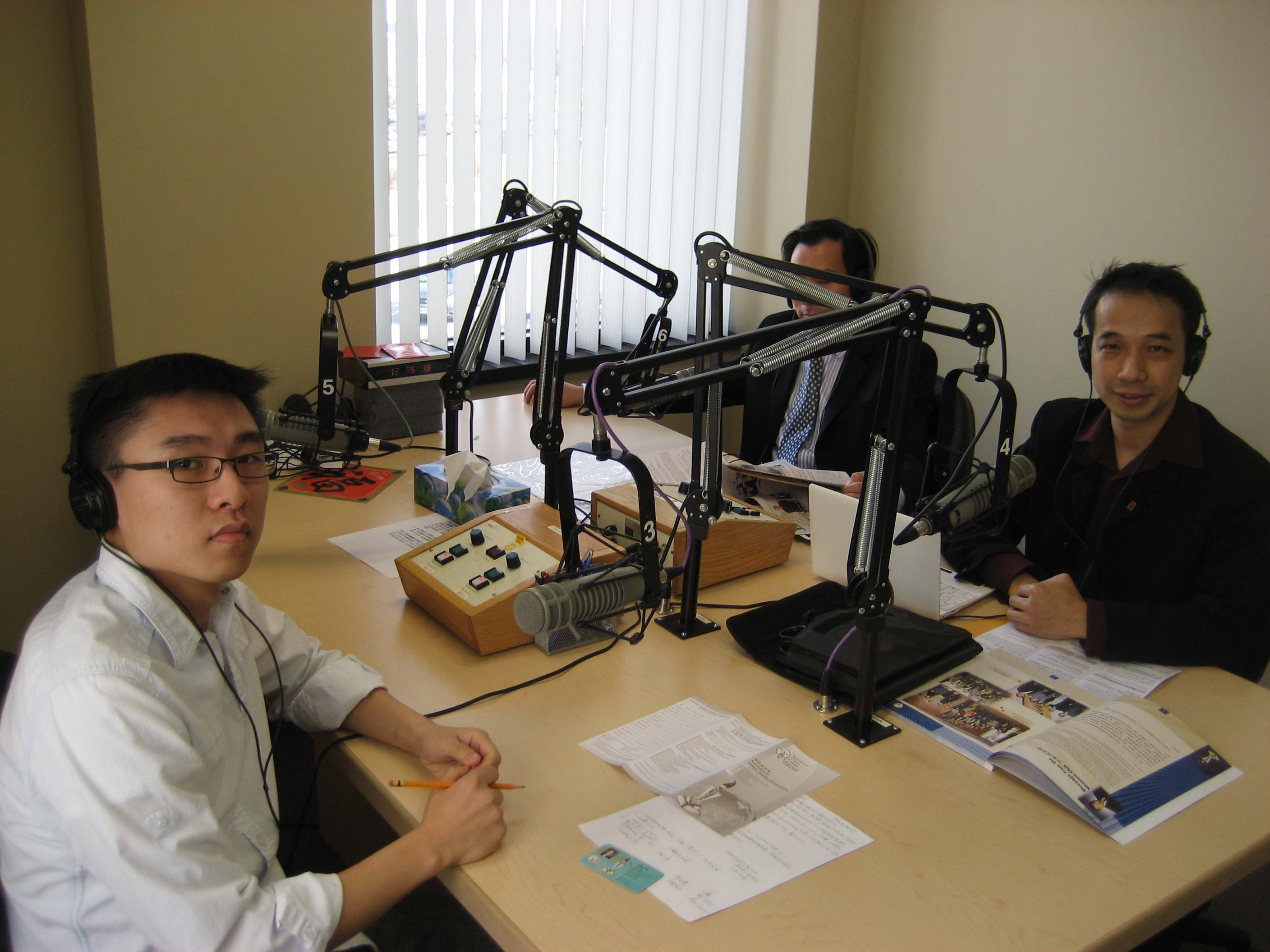 Chin Radio Interview 2011