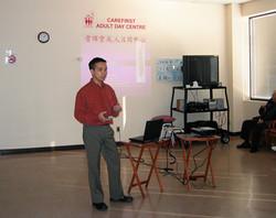Speaker of Health Seminar 2004