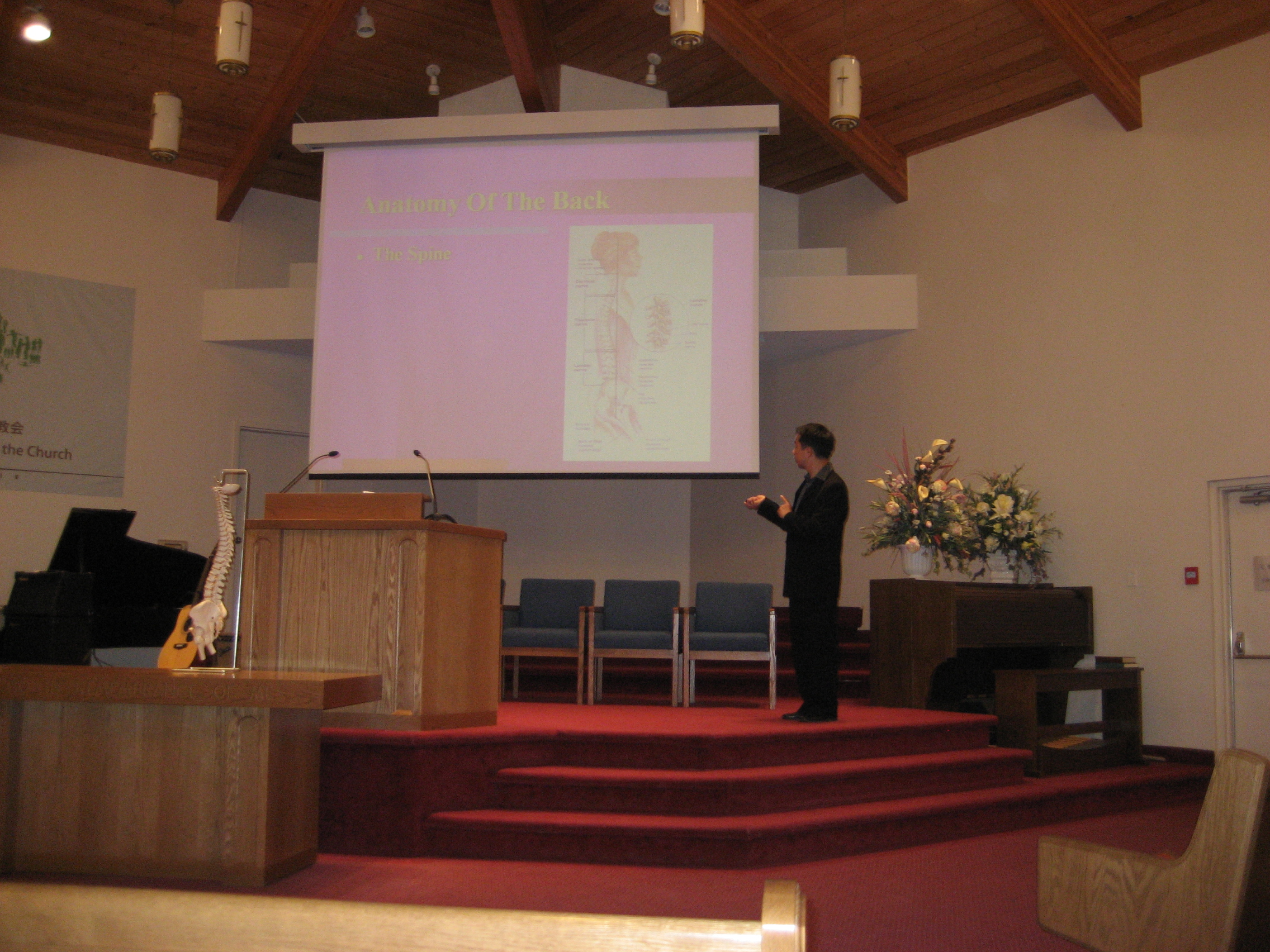 Health Seminar for Church 2010