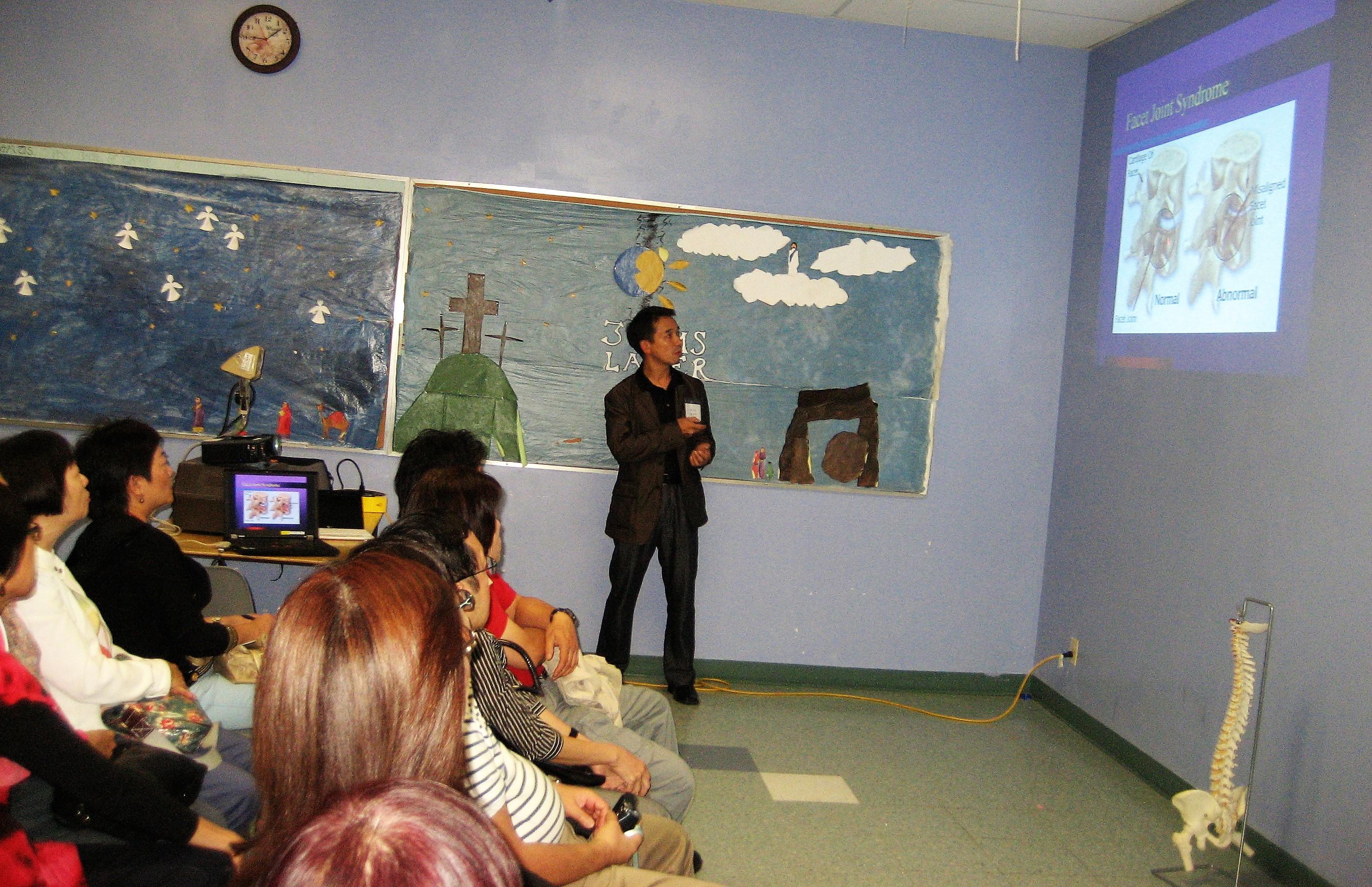Speaker of Health Seminar 2011