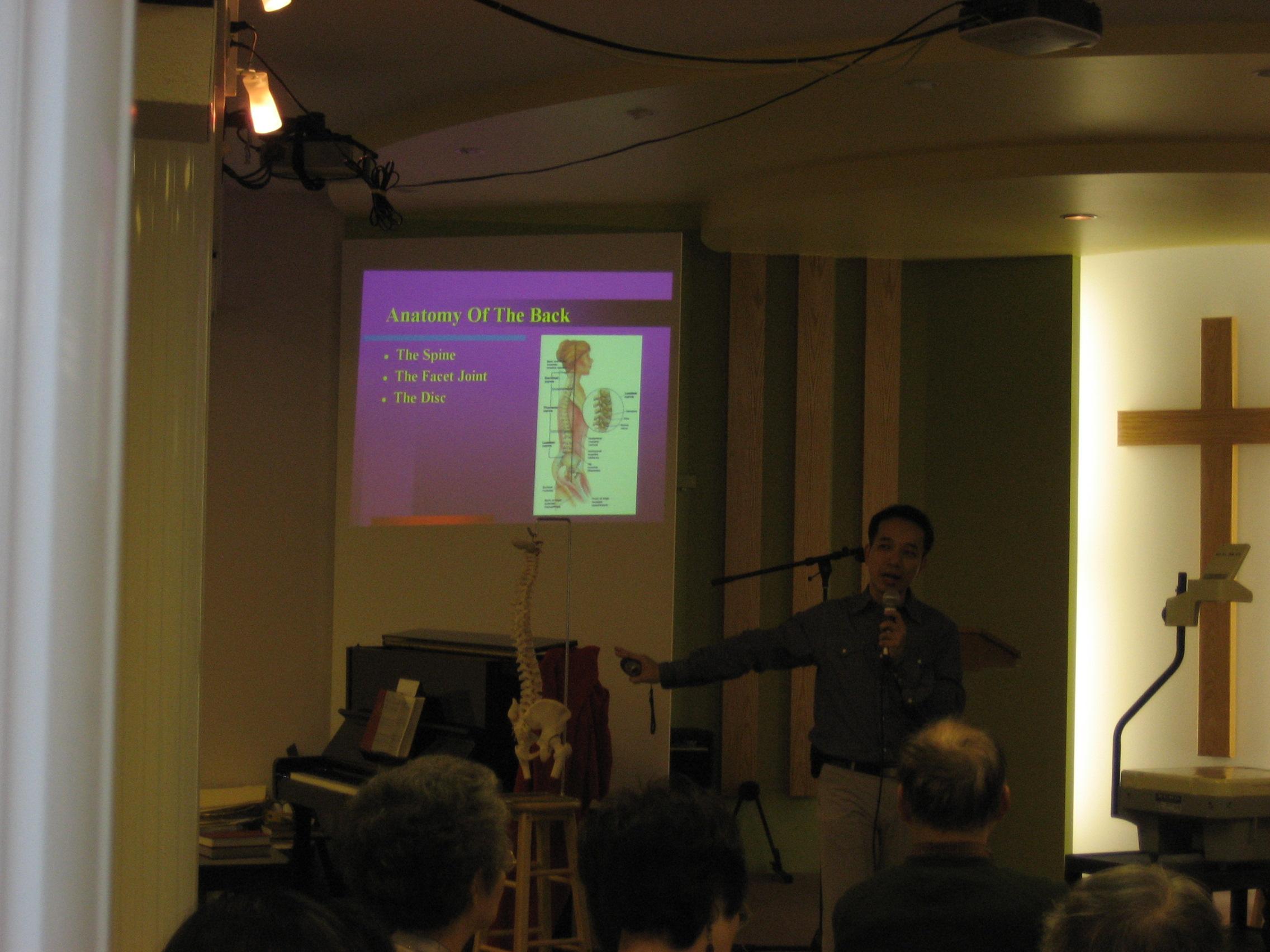 Health Seminar for Church 2009