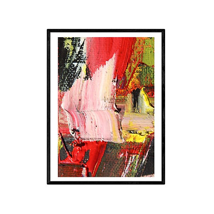 Power Abstract Print
