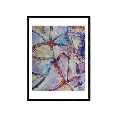 Flowers Abstract Print