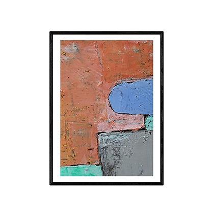 Yacht Abstract Art Print