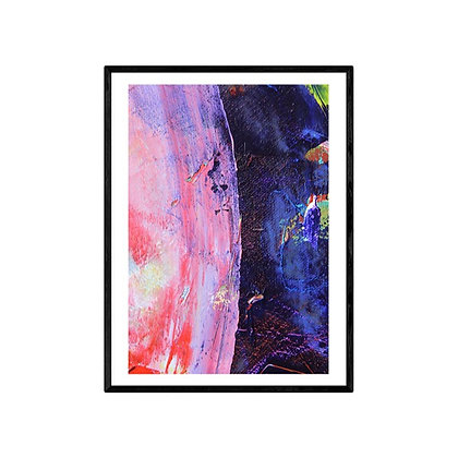 Outer Space Abstract Print