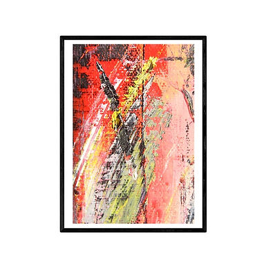 Flashes Abstract Art Print